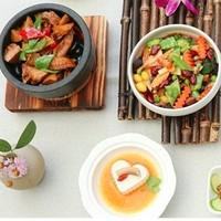 雙11預售 : 四川禪驛酒店成都錦城院子/樂山金葉2店雙人素食套餐