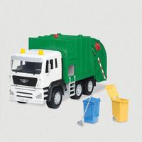 北美DRIVEN 玩具车男女孩模型玩具套装模型汽车仿真车环保垃圾车1:18 逼真声光玩具车4岁+ 多款可选 回收车