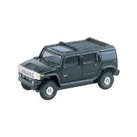 TOMY多美卡合金小汽车模型15号悍马H2越野车仿真玩具车742753