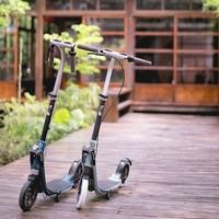 迪卡侬滑板车 折叠避震休闲便携校园代步车Town9 OXELO-S