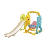 AOLE-HW 澳乐 跑跑熊儿童滑梯+室内秋千组合+凑单品 +凑单品