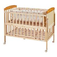 小龙哈彼新生婴儿床实木床