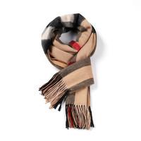 Everugg澳洲雪地靴品牌 羊毛披肩女士格子保暖流苏披巾女款11492