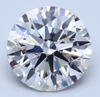 Blue Nile 1.02克拉 圆形切割钻石(切工EX,成色E,净度VS1)