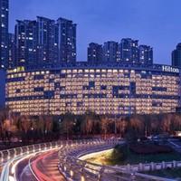 双11预售 : 一线江景!南京世茂希尔顿酒店1-2晚套餐