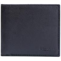 COACH 蔻驰 奢侈品 男士黑色皮质短款对折钱包钱夹 F75084 BLK