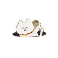 GUSHA/古莎 大头喵胸针猫动漫可爱猫咪配饰徽章