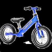 永久平衡车儿童滑步车无脚踏单车学步车自行车溜溜车2-4-6岁小孩宝宝镁合金滑行车 深蓝色(铝合金充气轮)