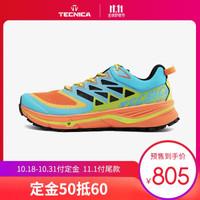 TECNICA泰尼卡山地越野跑鞋男女雷步鞋专业户外运动登山鞋 女款:001浅灰色 39.5(UK6)