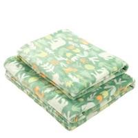 京東PLUS會員 : misslele 米樂魚 嬰幼兒蓋毯 100*120CM *3件