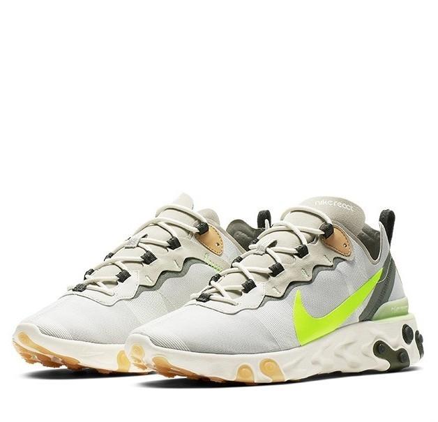 NIKE 耐克 React Element 55 BQ6166 男士运动鞋