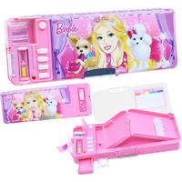 Barbie 芭比 儿童文具盒