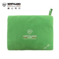 诺诗兰 户外抓绒睡袋加厚保暖摇粒绒可收纳睡袋A990110
