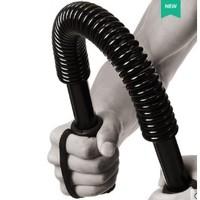 双牌 烤漆碳钢臂力器 黑色 20公斤