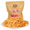 津顺祥猫耳酥 怀旧零食猫耳朵 饼干锅巴休闲小吃芝麻味400g/袋 *11件