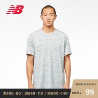 New Balance NB官方2019新款男款MT91922舒适运动短袖T恤