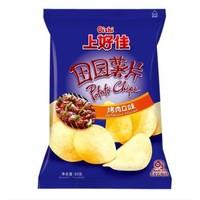 上好佳田园薯片大礼包组合好吃的麻辣怀旧零食休闲膨化小吃辣味