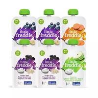 小皮欧洲原装进口酸奶鲜果泥100g*6宝宝婴儿辅食水果泥吸吸袋
