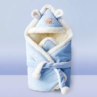 美兜兔 嬰兒雙層加絨包被