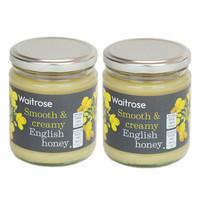 Waitrose 英式野生蜂蜜/结晶蜜 340g/罐 两种规格可选 2罐