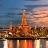 南航直飞!上海-泰国曼谷5天往返含税机票