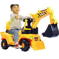 贝爵 儿童玩具电动挖掘机可坐 大号滑行款带