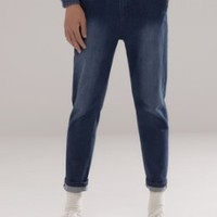 Meters bonwe/美特斯邦威 354046 男士牛仔裤