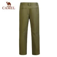 CAMEL/骆驼户外男士冲锋裤防风防水保暖长裤户外裤冲锋裤子