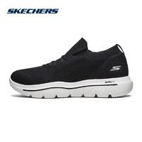 Skechers斯凯奇一脚套健步鞋 透气网布袜套休闲鞋男54741