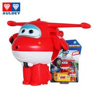 奥迪双钻超级飞侠 3岁以上益智玩具变形机器人 迷你变形-乐迪 710010