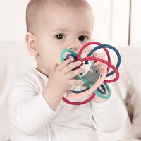 蓓臣 曼哈顿牙胶手抓球0-1岁婴儿安抚玩具