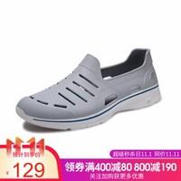 胜道运动旗舰店SKECHERS斯凯奇跑步鞋男鞋低帮轻便休闲运动鞋 54271 54271/GRY 41