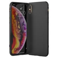 雷瑞科 苹果iPhone6/6s/7/8plus/X/XR/XSmax/11硅胶磨砂手机壳 *5件