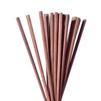 实木筷子 鸡翅木筷子家用日式无漆无蜡筷子实木餐具10双