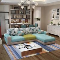 紫茉莉 小户型沙发组合 旗舰版3位贵妃