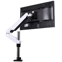 V-mounts/悠视 显示器支架 电脑显示屏桌面挂架 旋转气压液晶屏幕摇臂架子