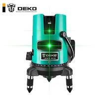 DEKO绿光2线5线水平仪激光高精度触摸屏红外线强光室外蓝光投线仪