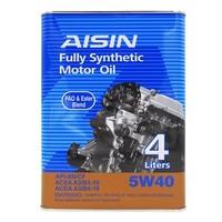 AISIN 爱信 全合成润滑油 SN/CF 5W-40 4L EGEN-0544S