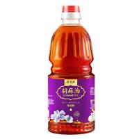 索米亚 特香胡麻油 宁夏传统小磨压榨 亚麻籽油食用油1L
