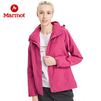 Marmot 土拨鼠 V50690 女士连帽冲锋衣