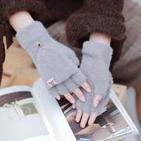 FUGUI/富柜   冬季加绒翻盖手套