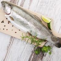易鲜丰 挪威三文鱼 整条 6-6.5kg