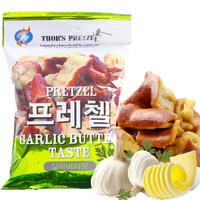 韩国进口 叮叮脆 休闲零食 饼干蛋糕 面包干面包脆 大蒜黄油味 75g *21件