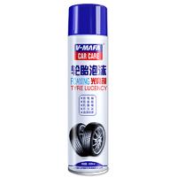 V-MAFA CAR CARE 汽车轮胎泡沫光亮剂  630ml