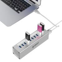 全铝多口USB3.0高速分线器HUB扩展转换器电脑集线器带电源多口台式笔记本拓展usb口 ORICO/奥???>                 </a>             </div>             <div class=