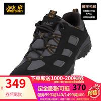 预售 Jack Wolfskin/狼爪男士2019秋季新款户外登山防滑运动徒步鞋4032361 DF 4032361-6350/深灰色 40.5/7
