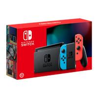 任天堂(Nintendo)Switch 掌上游戏机便携 NS 红蓝手柄 续航增强版 日版