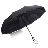 普智 十骨全自动雨伞 黑色