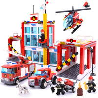 移动端:GUDI 古迪 儿童积木 消防总局 9217