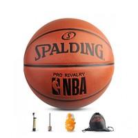 斯伯丁定制款篮球7号球防滑耐磨成人学生PU篮球76-321Y